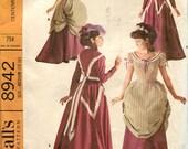 1967 Centennial Costume -- McCalls Pattern 8942, Size Medium (14-16)