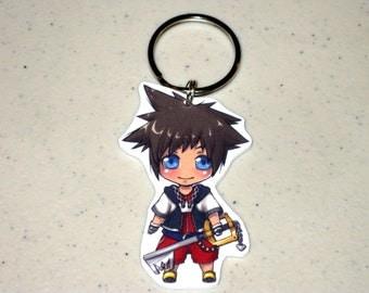 Sora - Kingdom Hearts Keychain