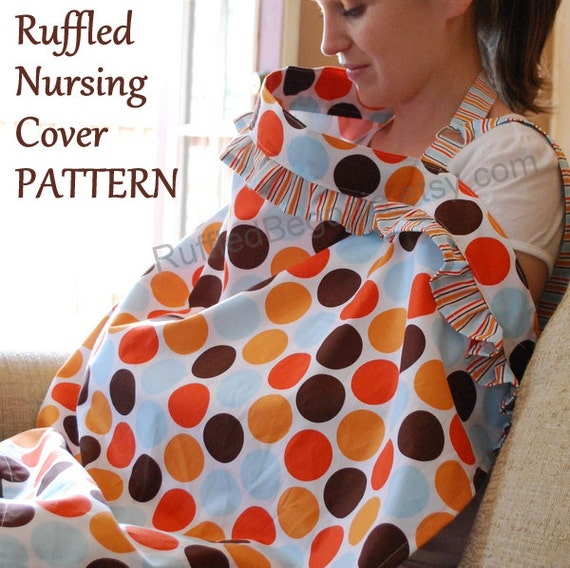 Breastfeeding Nursing Cover Up With Ruffles Pdf By