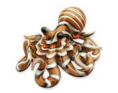 Clown Fish Striped Octopus pendant