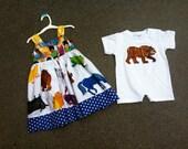 custom set Brown Bear sibling set