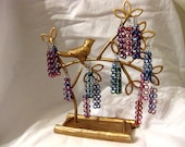 Multicolored Chainmaille Earrings