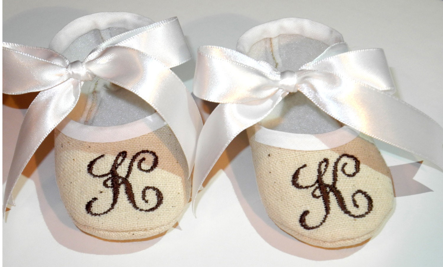 Baby Booties Personalized Baby Shoes Monogram Baby Booties