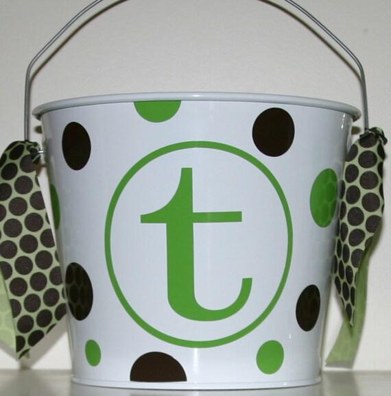 Personalized Bucket - 5 quart