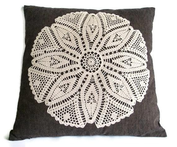 Home decorative throw pillowcase, Handmade17x17 pillow cover, Christmas Hostess gift