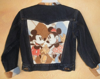 Mickey and Minnie Denim Jacket