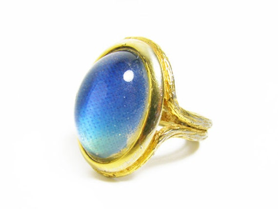 vintage mood ring bague vintage jewelry by my by mychouchou