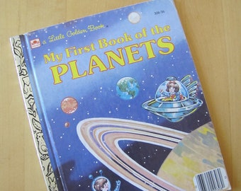 A Little Golden Book - My First Little Book of the Planets