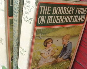 The Bobbsey Twins vintage hard cover books - 3