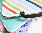 Custom Neoprene Laptop Sleeve - Neapolitan Stripe