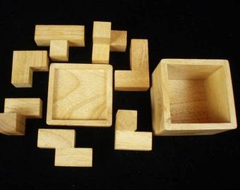 Soma Cube Craftsman Edition