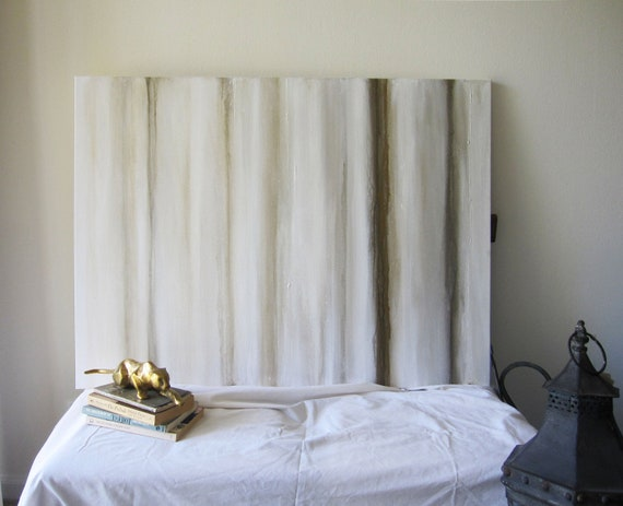 """Reserved 30"""" x 40"""" Abstract Painting White, Metallic Gold and Bronze"""