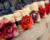 Fall Harvest Wedding Table Setting Escort Card Holders, Set of 10 - Autumn Wedding, Harvest Wedding