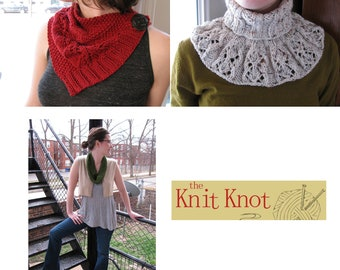 Cowl Pattern Collection from The Knit Knot
