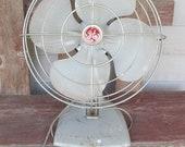 FALL SALE Vintage Steel GE Oscillating Fan