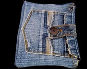 Denim EReader Case - Kindle Paperwhite, Kindle Touch,Nook Simple Touch, Kobo Touch and others