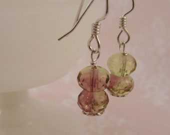 Giverny Earrings -Glass Beads & Sterling Silver