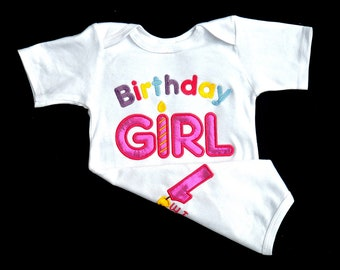 Birthday Girl Outfit 1st Birthday Smash Cake Outfit Baby Girl 1st birthday outfit   I'm 1 on the back 12 mon to 24 mon