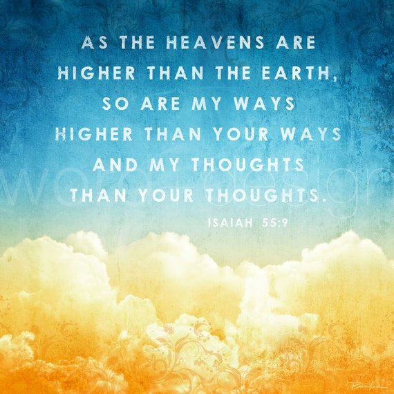 As the Heavens are Higher