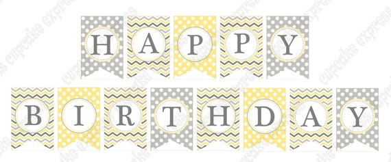 items similar to sunshine chic banner happy birthday