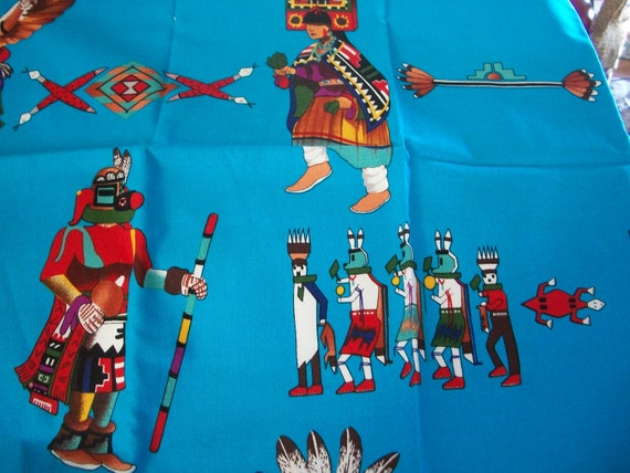 Native American Print Fabric For Crafts