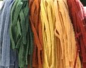 Primitive Mix - 150 Primitive Hand Cut Wool Strips