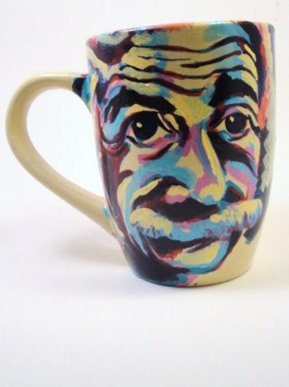Albert Einstein Says 'Mocha'