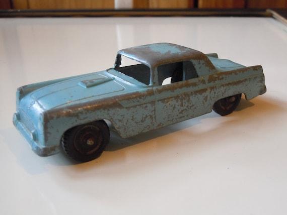 Custom Listing For sadiren4 / Tootsietoy Vintage Toy Car Blue Ford Underbird