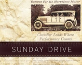 Sepia Monochromatic Vintage Pre-made Etsy Shop Set -  7 piece  - Sunday Drive