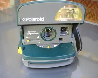 Polaroid Green Bubble  One-Step Express Camera- We have a Polaroid Camera for You