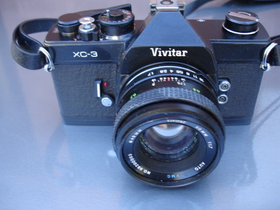 Vintage Vivitar XC-3 35 MM film camera - We have a great selection of Vintage Cameras