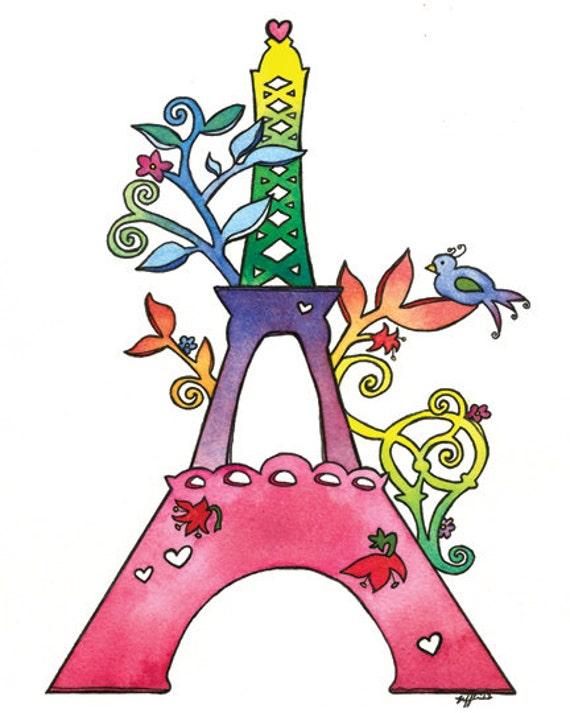 PRINT - La Tour Eiffel