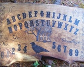 Custom Ouija Board  listing for Irisinmoonlight