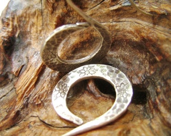 Thailand Fine Silver Earrings - The Alphabet S (3)