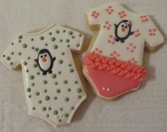 Penguin Baby cookies 2 dozen
