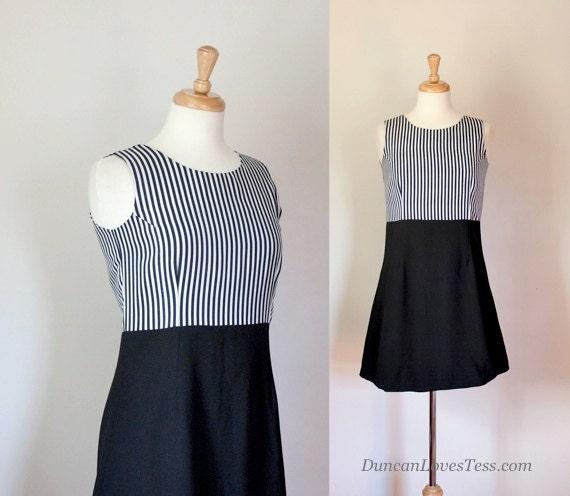 60s Dress / 60s Mini Dress / Mod Mini Dress  / Mad Men Dress