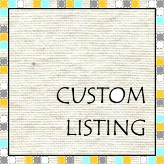 Custom Listing for shak