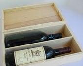 Love Letter Ceremony Winery Wedding Vineyard Wedding Custom Wedding Wine Box Memory BoxTime Capsule for two wine bottles