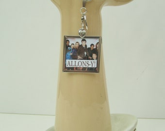 Reversible BBC Doctor Who Number 10 David Tennant Allons-y Pendant