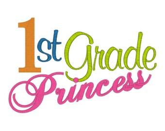 First 1st Grade Princess Tee Sizes 2 4 6 8 10
