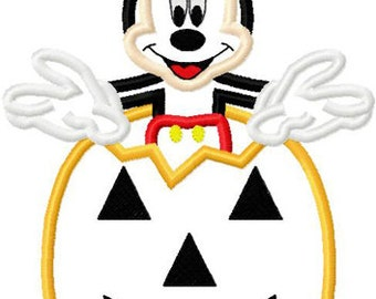 Mickey in Pumpkin Perfect for Mickey's Not So Scary Halloween Party at Disney World or Disneyland Tee Sizes 2 4 6 8 10