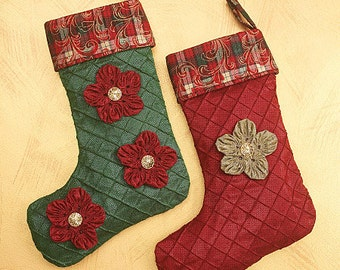 Christmas Folk Stockings and Ornaments Pattern McCalls 6002