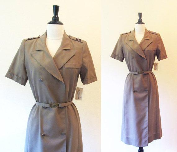 Reserve for Aldo-Flight attendant / stewardess uniform / Northwest Airlines uniform / NWA / 80s flight attendant