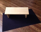 Bare Bones Meditation Bench - Natural 0 VOC  Stain
