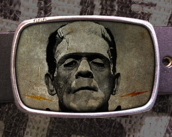 Frankenstein Belt Buckle 714