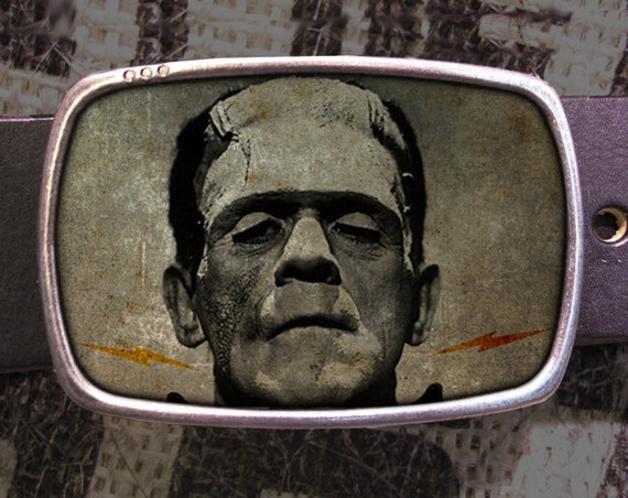 Frankenstein Belt Buckle 714