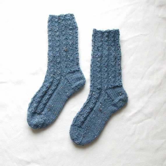 Knitting Women S Socks : Cable knit socks women s size us uk