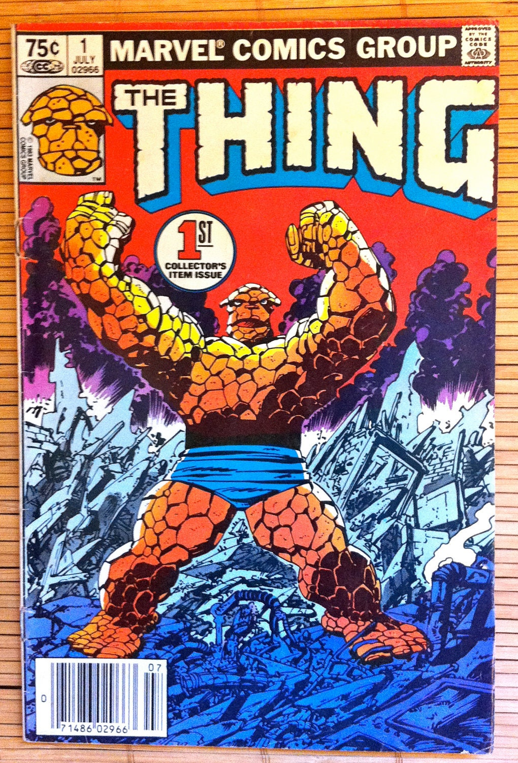 the thing issue 1 marvel comics 1983 fantastic four