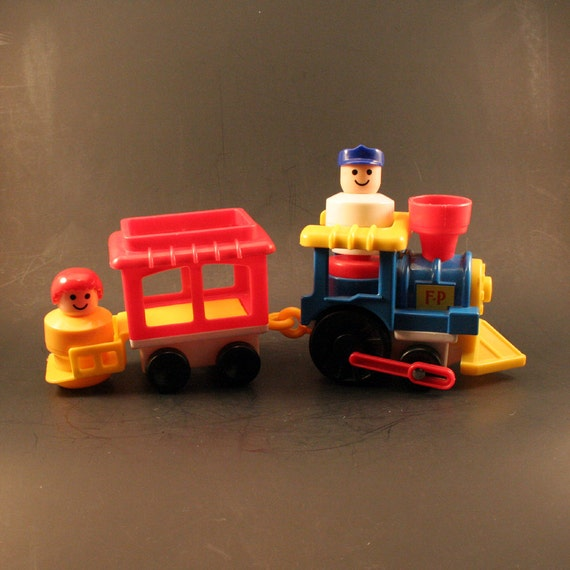 Pricing People: Vintage Fisher Price Little People Train