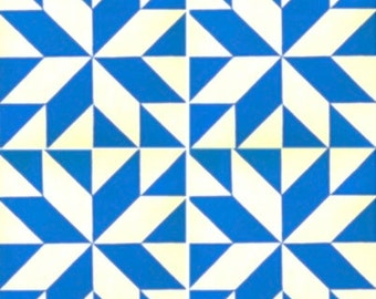 Blue & White Barn Quilt Painting